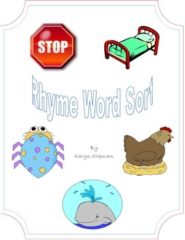 Rhyme Word Sort