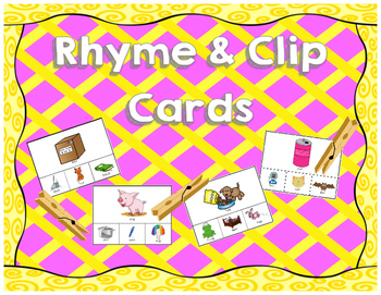 Rhyme and Clip Cards