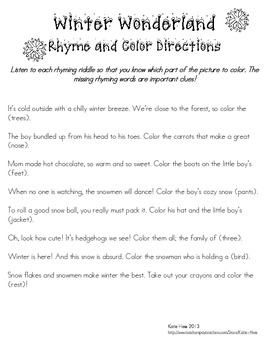 Rhyme and Color Mega Pack! - 10 Favorite Themes