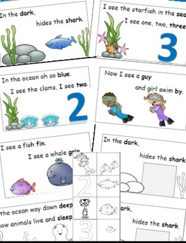 Emergent Reader Bundle, Rhyme and Read, Cut and Paste, Activities Books