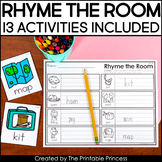 Rhyme the Room | 13 Write the Room Activities for Rhyming