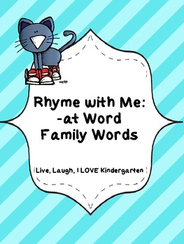 Rhyme with Me: -at Word Family Words