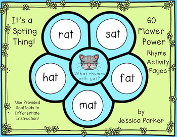 Rhyming Activity Pages - Great For Homework, Classwork, or Morning Work!