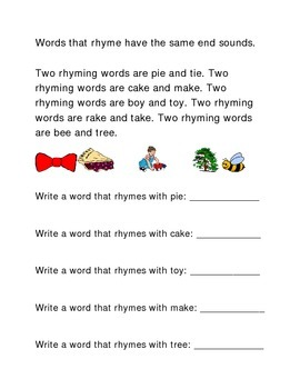 Rhymes Following Directions Emergent Reader Printable Critical Thinking Puzzle