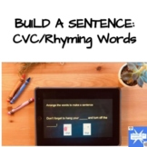 Rhymes- Interactive activities for remote, digital, ESY, and virtual learning