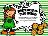 Rhymes O' the Irish- Rhyming Sort with long vowel sounds