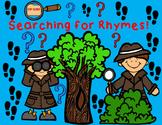 Rhymes:  Rhyming Words Cut and Paste