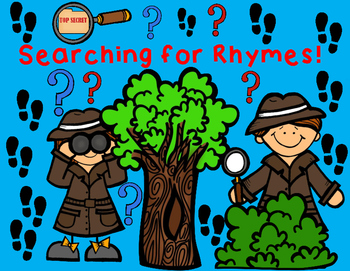Rhymes:  Rhyming Words Cut and Paste