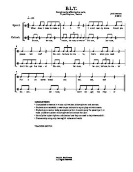 Rhymes, Rhythms, & BEYOND! Sample Pack