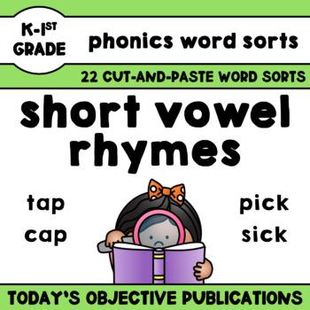 Rhymes Short Vowels