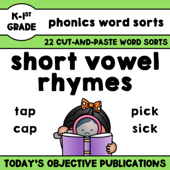 Rhymes Short Vowels