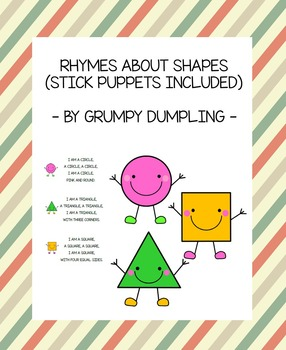 Rhymes about Shapes - Circle, Triangle, Square