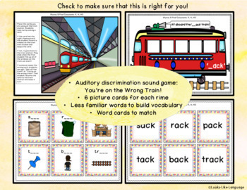 Phonological Awareness Activities: Final Consonant Deletion & Rhymes: K,G,NG