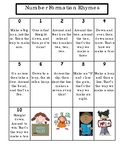 Rhymes for Writing Numbers 0-10