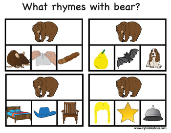 Rhymes with Bear