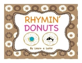 Rhymin' Donuts (Rhyming matching game)
