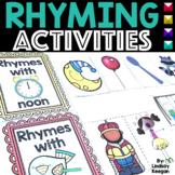 Rhyming Words Printables