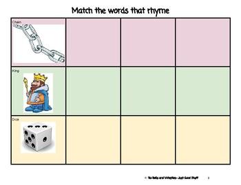 Rhyming: 4 In A Strip