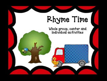 Rhyming Activities and Worksheets
