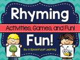 Rhyming Activities!