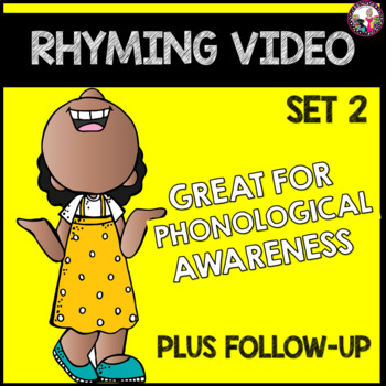 Rhyming Activities Distance Learning