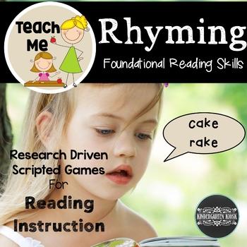 Teach Me to Read: Rhyming