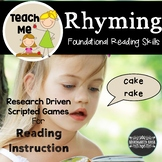 Rhyming Literacy Lessons and Games: Teach Me to Read