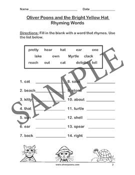 Rhyming Activities Download