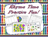 Daily Rhyme Worksheets and Rhyming Fun Activities