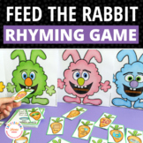 Rhyming Activities for Kids:  Rabbit Rhyming Game and Activity