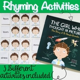 Rhyming Activities for The Girl Who Thought In Pictures