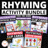 Rhyming Activity Bundle:  Rhyming Activities for Preschool and Kindergarten