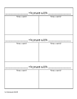 Rhyming Activity ENG and SPN