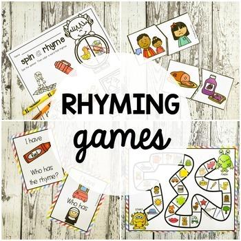 Rhyming Games