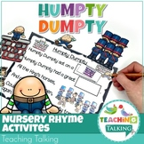 Nursery Rhyme Activities for Humpty Dumpty