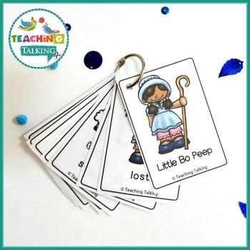 Nursery Rhyme Activities for Little Bo Peep