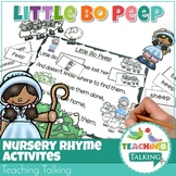Nursery Rhyme Activities for Little Bo Peep