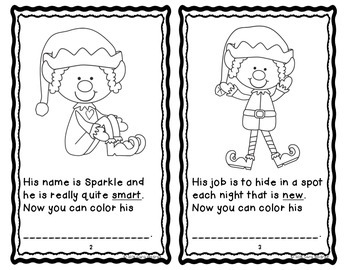 Rhyming Activity {The Elf Rhyme Book} Christmas 1st Grade