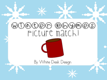 Rhyming Activity {Winter Theme}