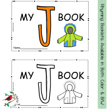 Alphabet Letter Books in Rhyme for Emergent Readers