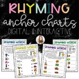 Rhyming Anchor Charts {Digital & Interactive}