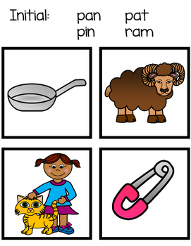 Rhyming And Initial Sound Cards - What Doesn't Belong?