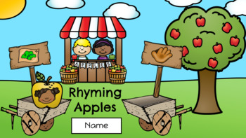 Rhyming Apples - September Center (in Google: Digital and Interactive)