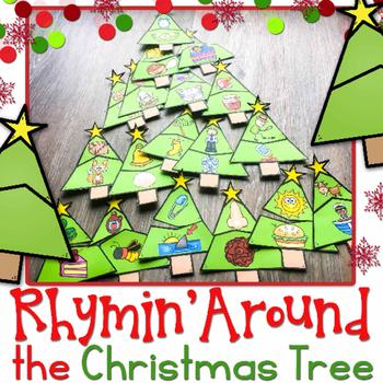 Rhyming Around the Christmas Tree Puzzles