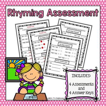 Rhyming Assessment