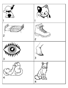 Rhyming Assessment Preschool & Kindergarten Precious Preschoolers