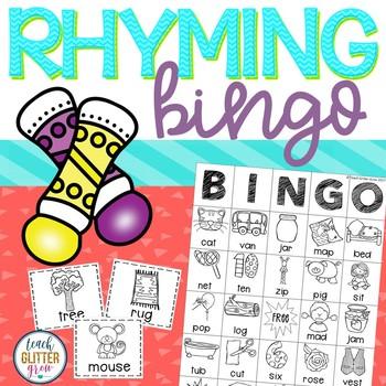 Rhyming BINGO - Printer Friendly :)
