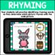 Rhyming BOOM CARDS Digital Task Cards