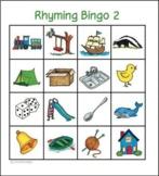 Rhyming Bingo 2 - whole class set