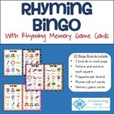 Rhyming Bingo #turkeydeals